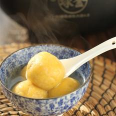 红薯豆沙汤圆