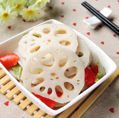 广东菜干怎么做清炒莲藕片的做法