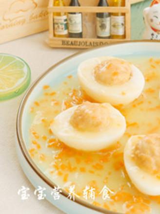蝦肉雞蛋杯的做法