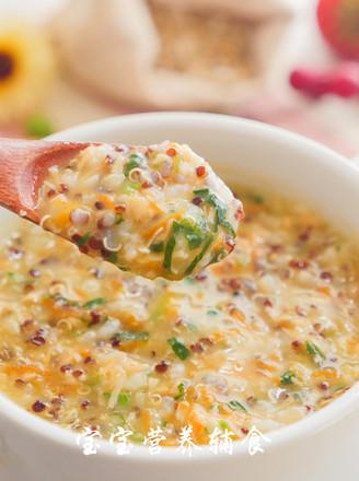 三文魚藜麥粥的做法