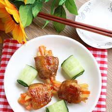 胡萝卜土豆酿鸡翅