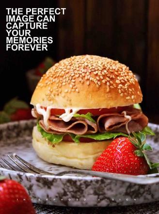 培根汉堡的做法