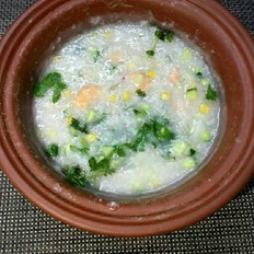 砂鍋鮮蝦粥
