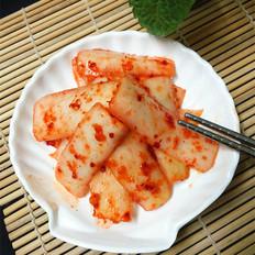 韓式辣蘿卜皮