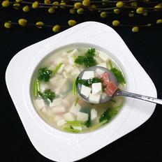 火腿豆腐羹