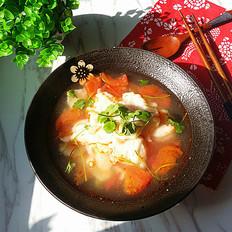 番茄魚片湯