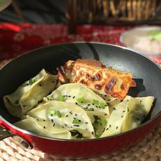 磷虾肉韭菜锅贴