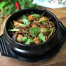 麻辣茶树菇干锅