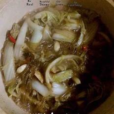 砂锅炖白菜粉条