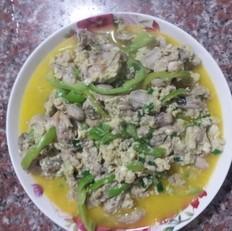 海蛎子炒鸡蛋