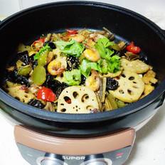 基圍蝦麻辣香鍋