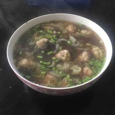 海味肉丸湯