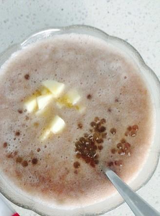 香蕉纯牛奶西米露的做法