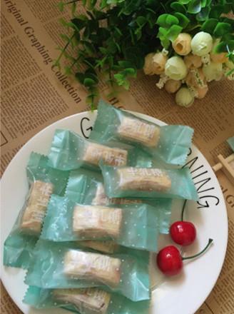 麦芽糖版台湾牛轧糖的做法