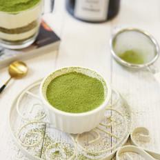 一抹最治愈的绿:抹茶提拉米苏