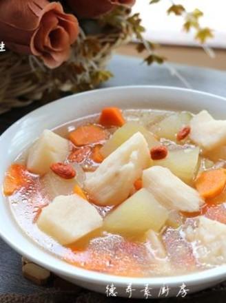 冬瓜山药汤的做法