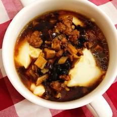 香菇肉沫豆腐脑