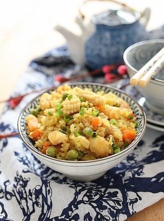 海鲜咖喱饭的做法
