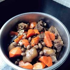 胡蘿卜花生煮豬腳