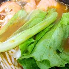 鮮蝦菌菇米線