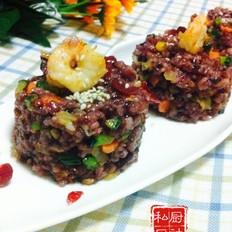 虾仁芝士炒饭
