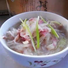 培根蘿卜湯