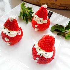 奶油草莓的做法