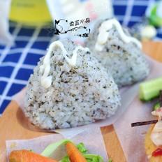 海苔饭团丘比沙拉汁