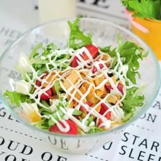 苦菊水果沙拉