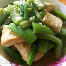 丝瓜烧豆腐