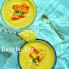 风萝卜蹄花汤怎么做杨枝甘露(无西柚版)的做法