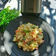 彩色蔬果沙拉