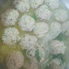 肉丸萝粉汤