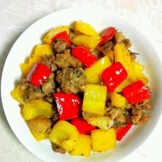 剩的油饼怎么吃好吃辣椒炒鸡的做法