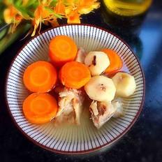 胡萝卜马蹄骨头汤