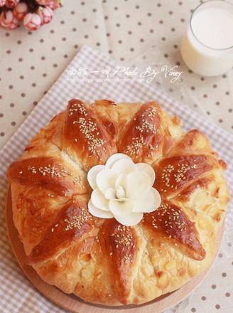 皇冠大面包的做法