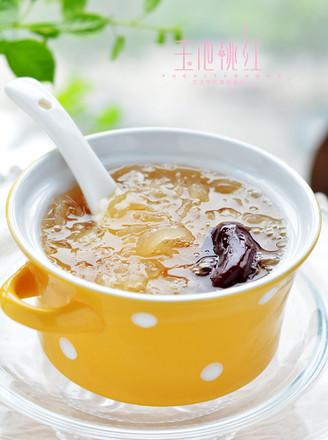 苏泊尔·皂角米银耳红枣汤的做法