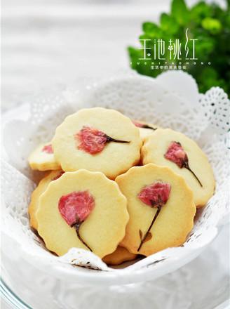 颜值爆表的樱花饼干的做法