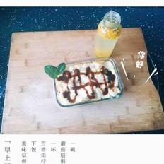 香菇培根焗饭