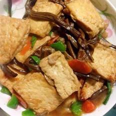 豆腐茶樹菇