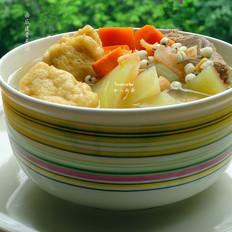 西瓜皮骨頭湯