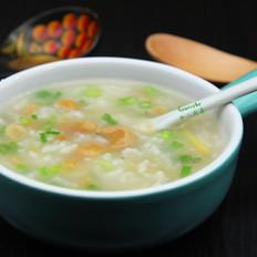 蝦米干貝粥