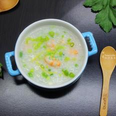 鲜甜海鲜虾粥