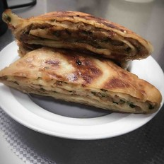 猪肉韭菜千层饼