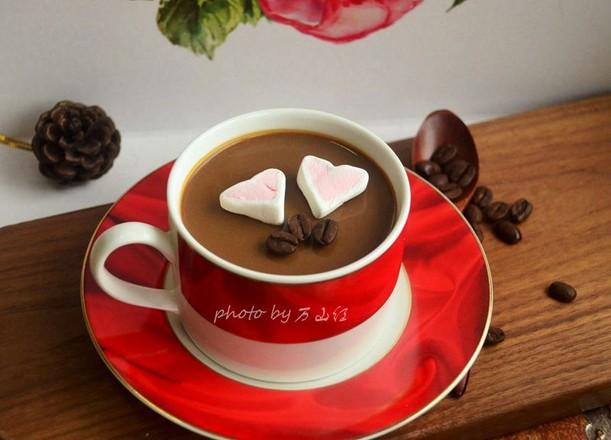 咖啡奶凍成品圖