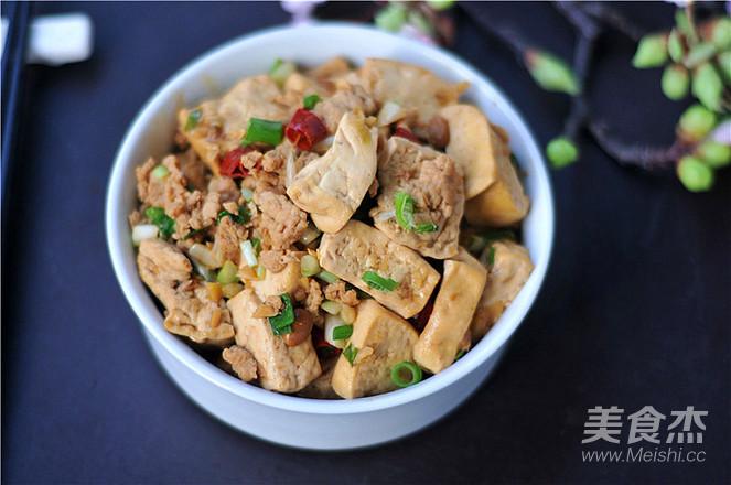 肉末豆腐成品圖
