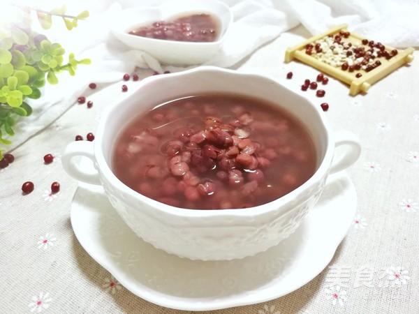 祛濕排毒的薏米紅豆粥成品圖