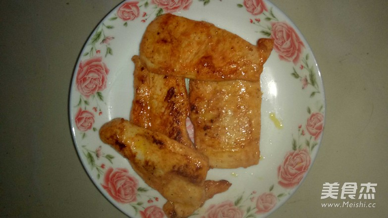 煎雞排成品圖