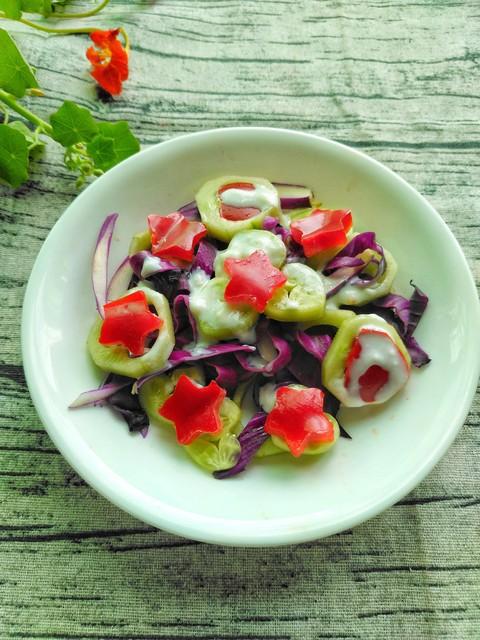 蔬菜这样吃特别减肥---蔬菜沙拉之1