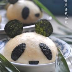 黄豆泥熊猫包